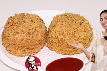 KFC Style Kurkure Burger